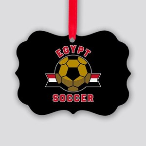 Egypt Soccer Picture Ornament