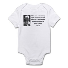 Mark Twain 43 Infant Bodysuit