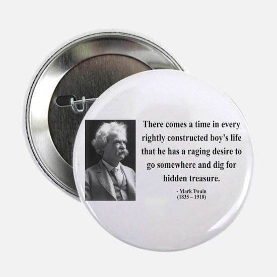 """Mark Twain 43 2.25"""" Button"""