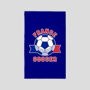 France Soccer Area Rug