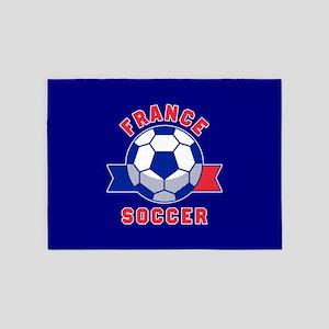 France Soccer 5'x7'Area Rug