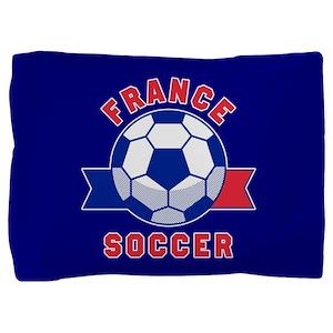 France Soccer Pillow Sham