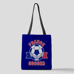 France Soccer Polyester Tote Bag