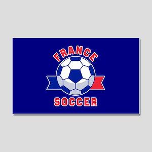 France Soccer Car Magnet 20 x 12