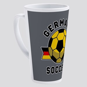 Germany Soccer 17 oz Latte Mug