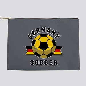 Germany Soccer Makeup Bag