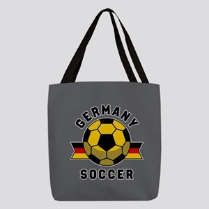 Germany Soccer Polyester Tote Bag