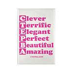 CTEPBA.com Rectangle Magnet