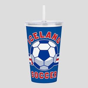 Iceland Soccer Acrylic Double-wall Tumbler