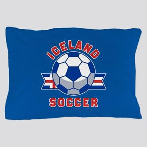 Iceland Soccer Pillow Case