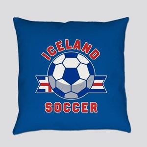 Iceland Soccer Everyday Pillow