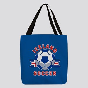 Iceland Soccer Polyester Tote Bag