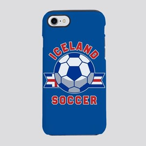 Iceland Soccer iPhone 8/7 Tough Case