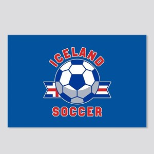 Iceland Soccer Postcards (Package of 8)