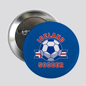 "Iceland Soccer 2.25"" Button (10 pack)"