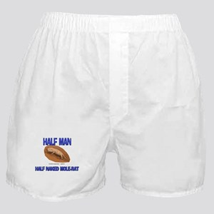 Half Man Half Naked Mole-Rat Boxer Shorts