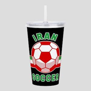 Iran Soccer Acrylic Double-wall Tumbler