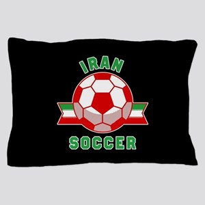 Iran Soccer Pillow Case