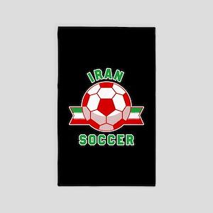 Iran Soccer Area Rug