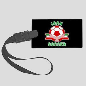 Iran Soccer Large Luggage Tag