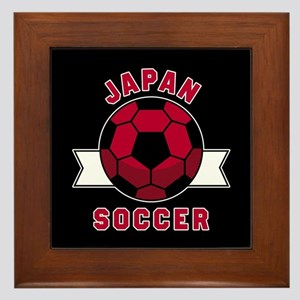 Japan Soccer Framed Tile