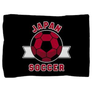 Japan Soccer Pillow Sham