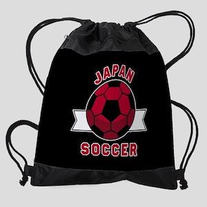 Japan Soccer Drawstring Bag