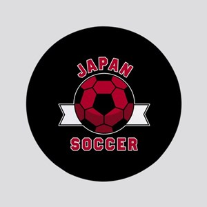 "Japan Soccer 3.5"" Button"