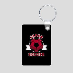 Japan Soccer Aluminum Photo Keychain