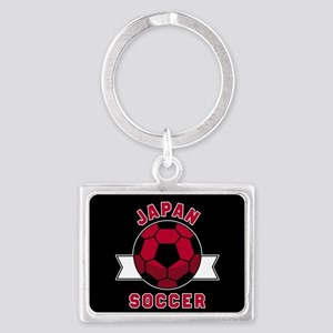 Japan Soccer Landscape Keychain