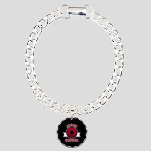 Japan Soccer Charm Bracelet, One Charm