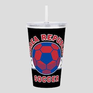 Korea Republic Soccer Acrylic Double-wall Tumbler