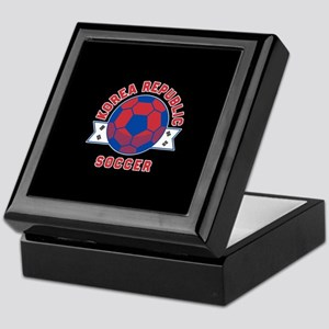 Korea Republic Soccer Keepsake Box