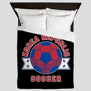 Korea Republic Soccer Queen Duvet