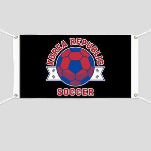 Korea Republic Soccer Banner