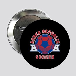 "Korea Republic Soccer 2.25"" Button (10 pack)"