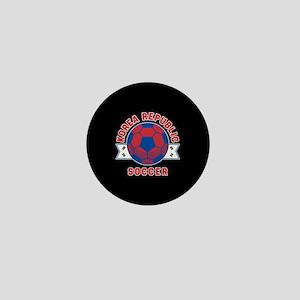 Korea Republic Soccer Mini Button