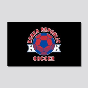 Korea Republic Soccer Car Magnet 20 x 12
