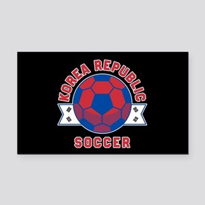Korea Republic Soccer Rectangle Car Magnet