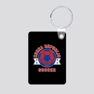 Korea Republic Soccer Aluminum Photo Keychain