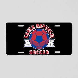 Korea Republic Soccer Aluminum License Plate