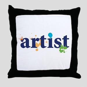 """""""Artist"""" Throw Pillow"""