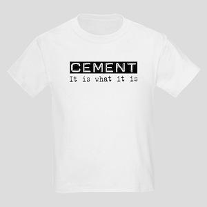 Cement Is Kids Light T-Shirt