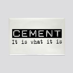 Cement Is Rectangle Magnet