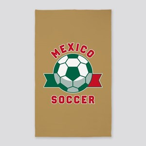 Mexico Soccer Area Rug