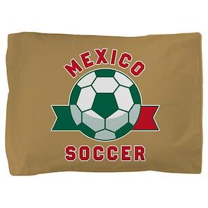 Mexico Soccer Pillow Sham