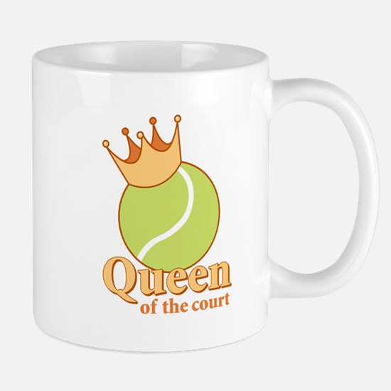 """Queen of the Court"" Mug"
