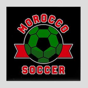 Morocco Soccer Tile Coaster