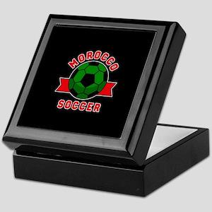 Morocco Soccer Keepsake Box