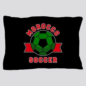 Morocco Soccer Pillow Case